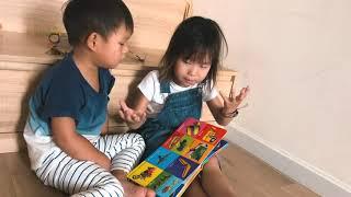 Sunny và Mio vừa phát hiện ngôn ngữ mới