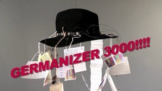 The Germanizer 3000 -- The Entire German Language... In A Hat! || CopyCatChannel