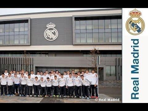 La cantera del Real Madrid ya disfruta de su residencia
