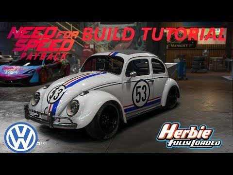 Need For Speed Payback   Herbie Volkswagen Beetle Build Tutorial   How To Make