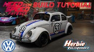 Need for Speed Payback | Herbie Volkswagen Beetle Build Tutorial | How To Make