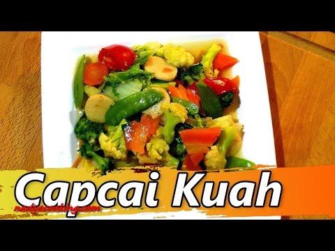 Resep Masakan Sayur Capcai Kuah | Resep Capcay Kuah