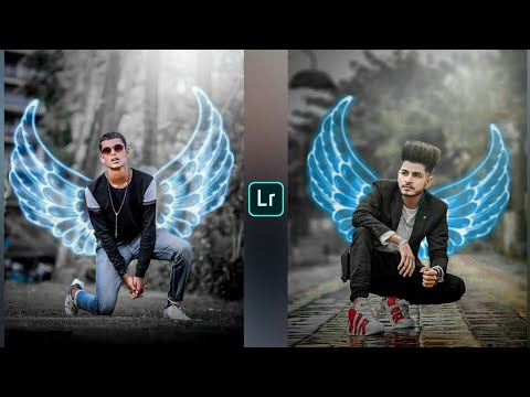 Picsart Neon Wings Photo Editing Like Atharv Raut || Instagram New Viral Photo Editing || Rkb Zone