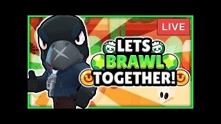 Brawl Stars - First Official Live Stream - Come Brawl With Me - Chest Opening Time