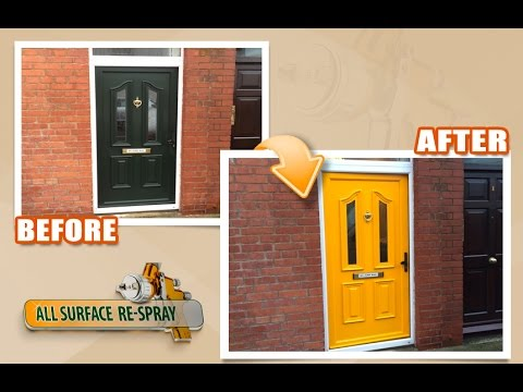 Pvc Front Door Respray Ireland Youtube