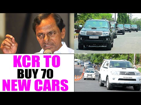 CM KCR Plans To Buy 70 New Cars For Indian Officials - Teenmaar News