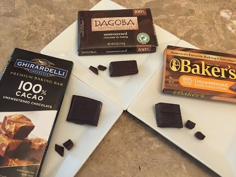 3 Brands of 100% Cacao Taste Test Comparison