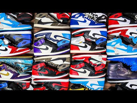My ENTIRE Air Jordan 1 Collection (30+ Pairs In 2019)