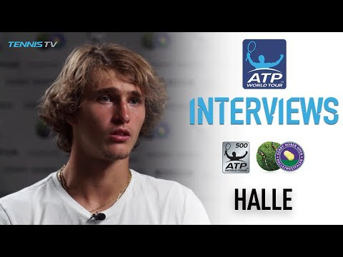 Zverev Is Ready For The Challenge in Halle 2017