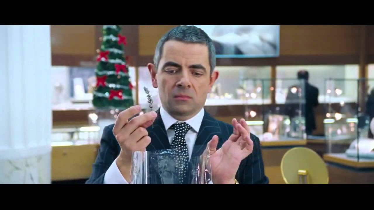 Funny Gift Wrapping Meme : Service operational excellence rowan atkinson as rufus