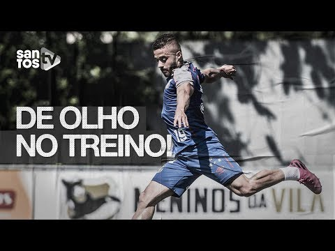 SANTOS VOLTA AOS TREINOS E FOCA EM JOGO DECISIVO | DE OLHO NO TREINO (11/09/19)