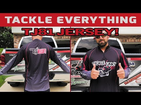 TackleJunky TJ81 Fishing Jersey – Can Be Yours!