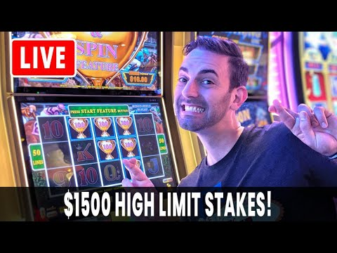 🔴 LIVE $1500 High Stakes 🎰 Casino Slots At San Manuel #AD