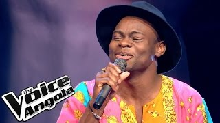 "Rafael Sampaio - ""Papa"" / The Voice Angola 2015: Audição Cega"