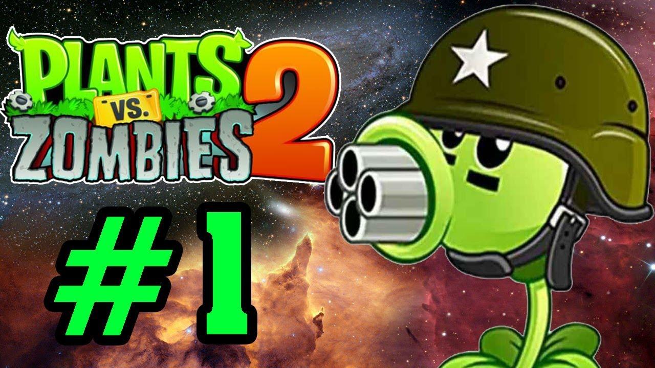 Plants Vs Zombies 2 - Hoa Quả Nổi Giận 2: ĐẬU 4 NÒNG #1