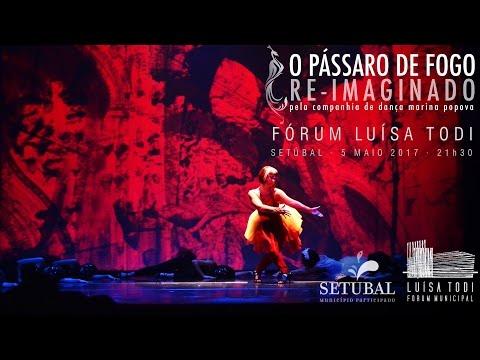 O Pássaro de Fogo Re-Imaginado - Fórum Municipal Luísa Todi, Setúbal 05-05-2017