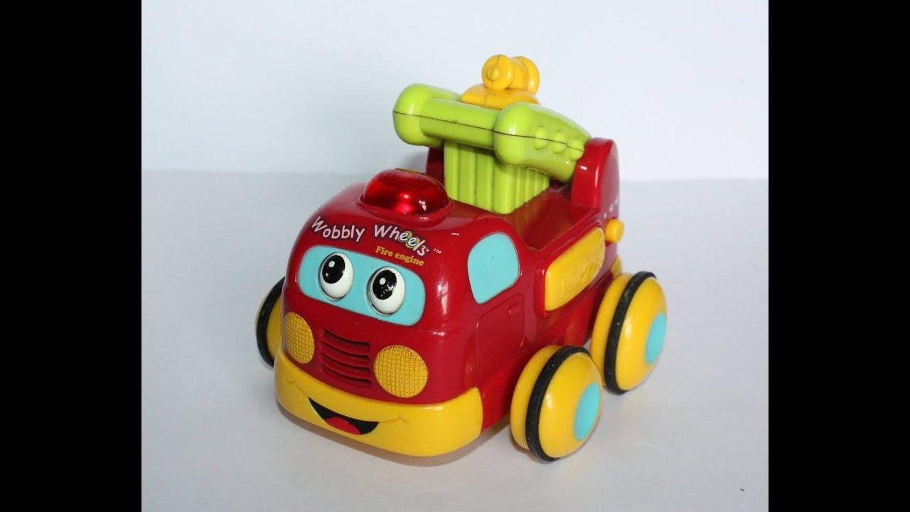 Vtech Wobbly Wheels Fire Engine Hd Youtube