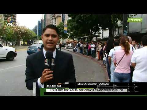 """Venezuela- """"El pasaje debería costar Bs. 5000"""", advierten transportistas de Caracas -VPItv"""