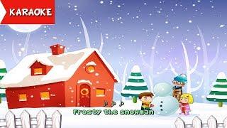 Frosty The Snowman Karaoke | Christmas songs ( 4K Music Video )