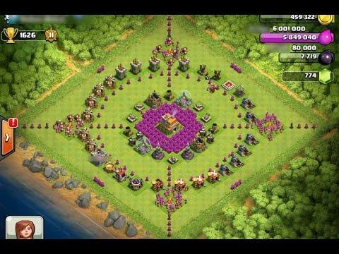 clash of clans hack war attack