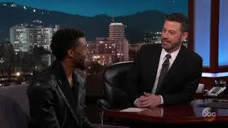 Chadwick Boseman on Black Panther Premiere