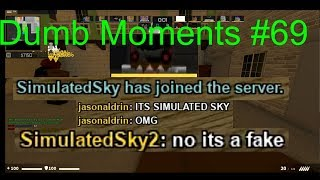 Simulated Sky 2: Roblox CSGO Dumb Moments #69 (Counter Blox)