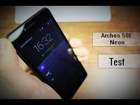 Archos 50E Neon - Review - Ein Franzose im Test :)