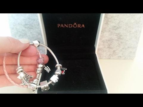 Pandora . Пандора. Моя коллекция. Браслеты и шармы.