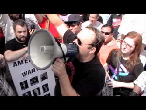 Alex Jones at The Federal Reserve Bank in Houston, Texas 10/8/11