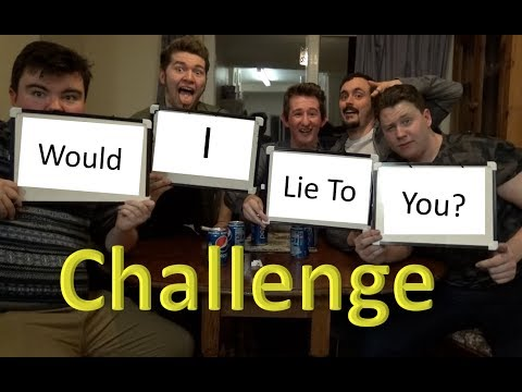 Would I Lie To You Challenge w/ Jake Baxter, James Box, Jak