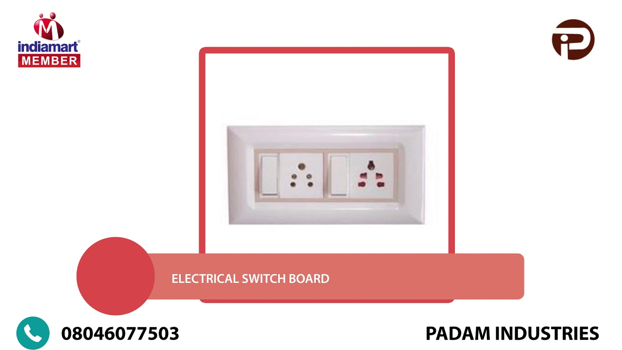 Manufacturer of Modular Switch Plate - YouTube