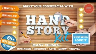 Hand Story Kit - Professional Explainer Builder | After Effects template