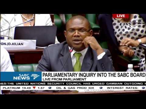 Parliament SABC Board Inquiry: Theresa Geldenhuys