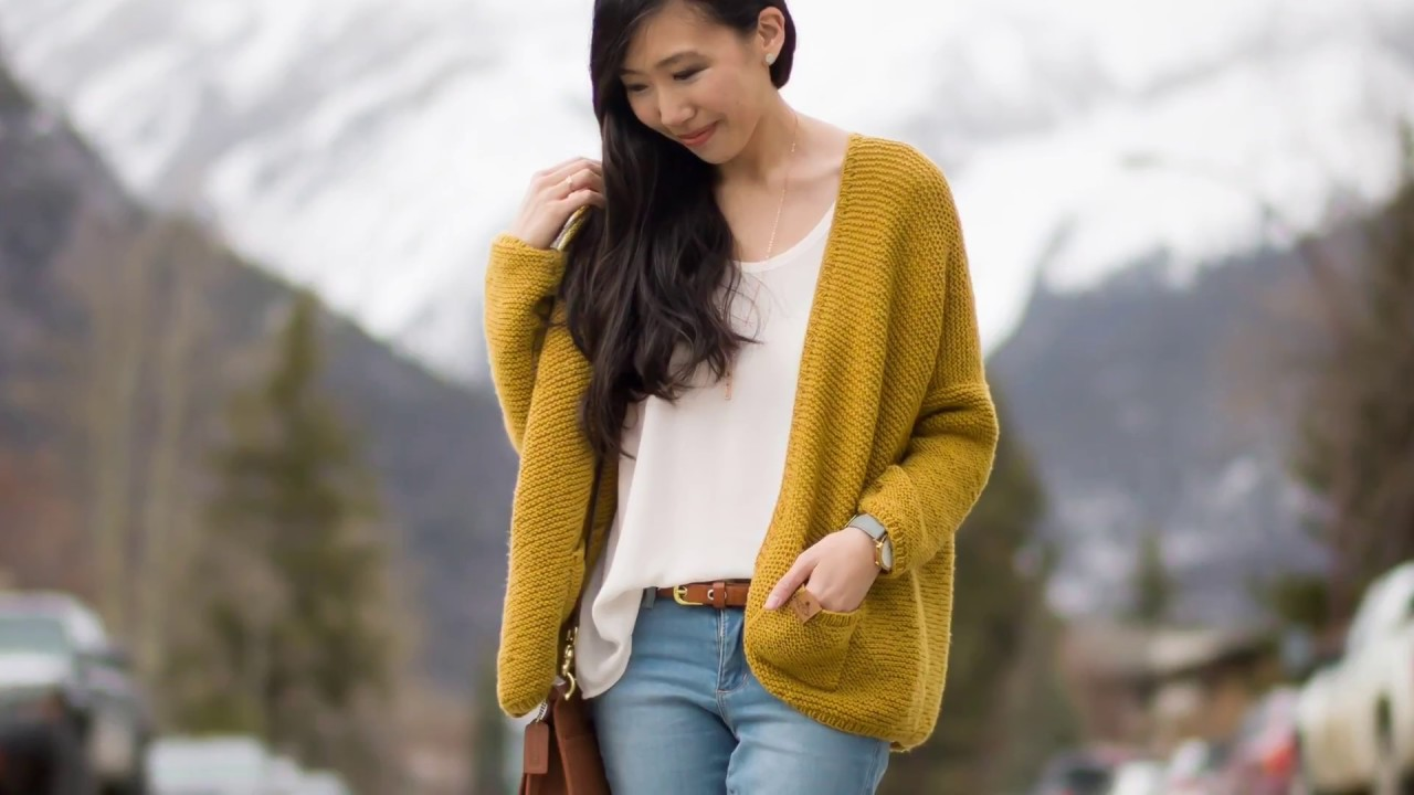 2a73a4f0e The Midtown Cardigan Knit Pattern - YouTube