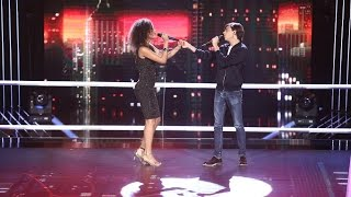Barbara Isasi &amp Mihai Olteanu - Like Im Gonna Lose You Confruntari Vocea Romaniei 201 ...