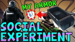 Video GIVING THE ENEMY ARMOR (SOCIAL EXPERIMENT) - Rainbow Six Siege download MP3, 3GP, MP4, WEBM, AVI, FLV April 2018