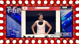 Su sátira sobre YouTube conquista al jurado | Audiciones 6 | Got Talent España 2018