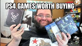 Games worth BUYING On Playstation 4!