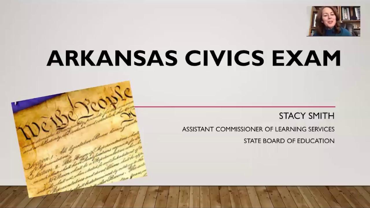 Arkansas Civics Exam Information Youtube