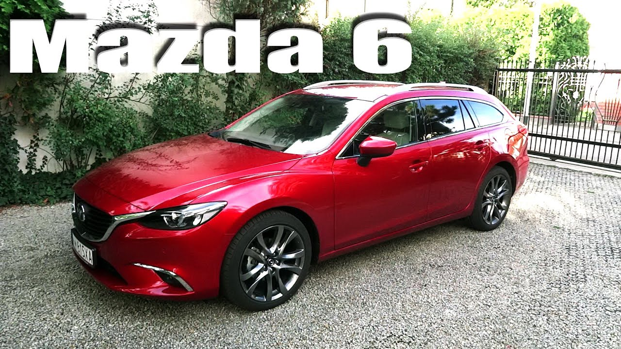 2016 mazda 6 wagon touring eng in depth review detail doovi. Black Bedroom Furniture Sets. Home Design Ideas