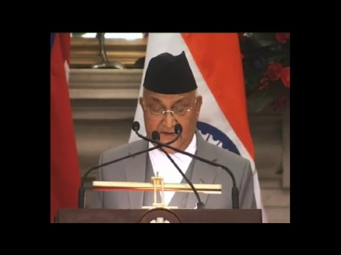 Remote inauguration of Development Projects & Press Statement: State Visit of PM of Nepal to India