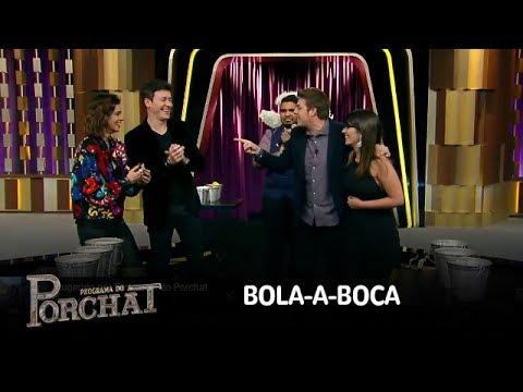 Porchat e Nataly vencem Faro e Vera Viel no Bola-a-Boca