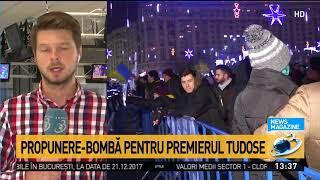 Propunere-bombă pentru premierul Mihai Tudose la sfârșit de an
