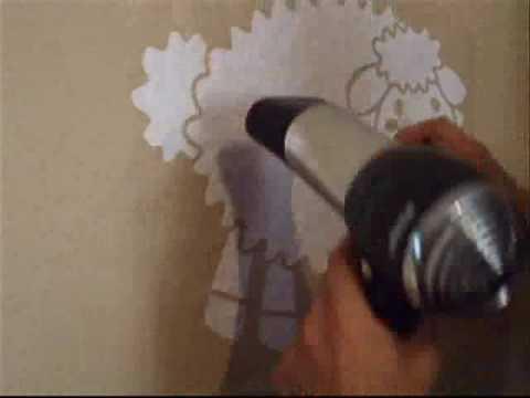 decorar paredes gotele
