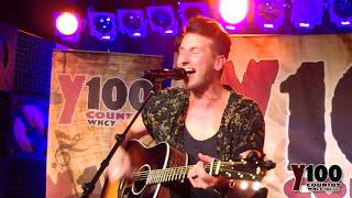 "Russell Dickerson - ""Blue Tacoma"" Live at Y100 Bra Country Concert 2018 in Green Bay Video"