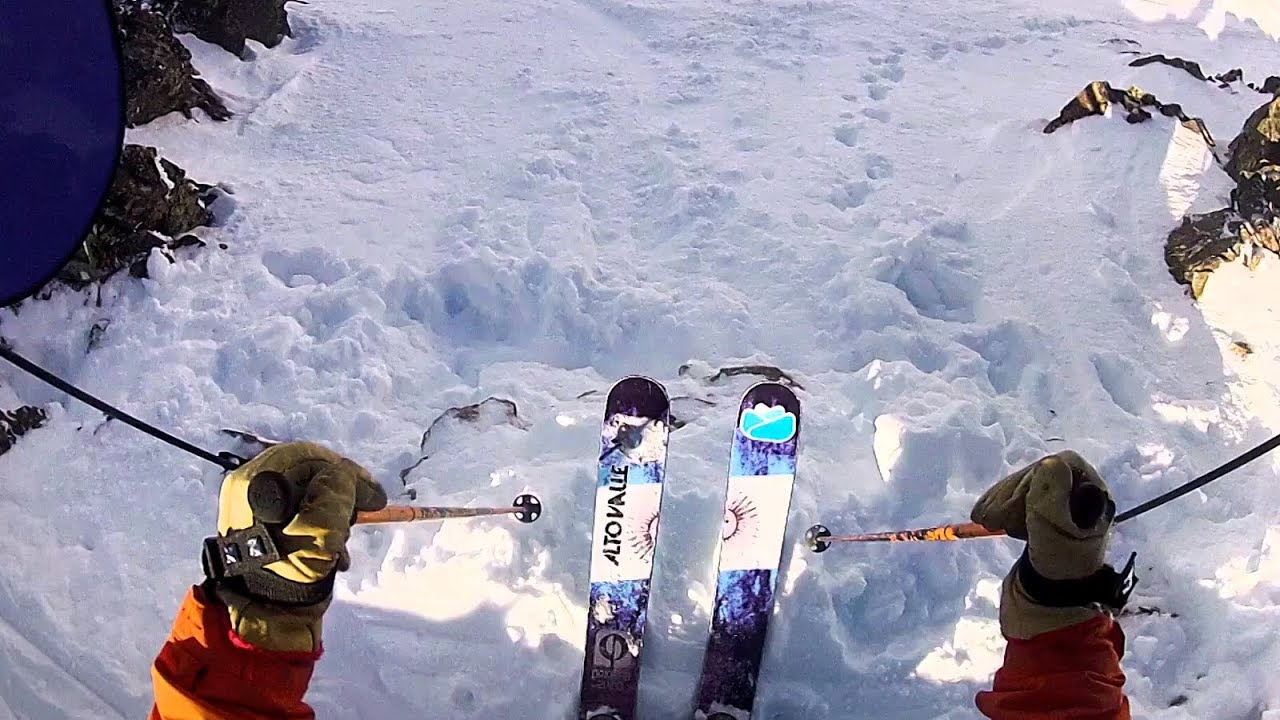 Freeride Skiing POV