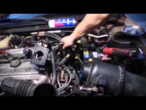 Po 401 Egr Flow Insufficient 1999 Ford Escort Youtube