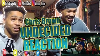 Chris Brown - Undecided(Reaction Video)