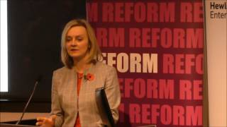 Prison reform speech- Elizabeth Truss MP, Lord Chancellor and Secretary of State for Justice