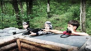#НеделяВысокогоПолета детские спортивные сборы #ТАЙКАЙ 2017 в лесу #MW_I